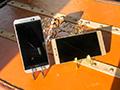 全金属旗舰 华为P8&HTC M9对比评测