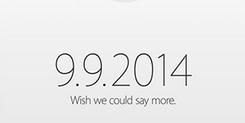 2014苹果秋季新品发布会