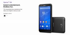 Sony 公布2015首部手机:Xperia E4