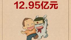 小米双十一天猫旗舰店销售额12.95亿