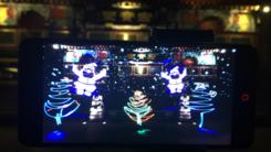 努比亚miniS新玩法 圣诞光绘创意吸睛