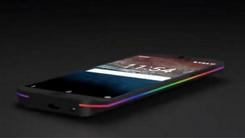 曝雷蛇手机渲染图:多彩灯条+支持三防