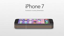 iPhone7非官方渲染:陶瓷后壳AMOLED屏