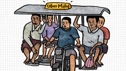 紧随曼谷 Uber在印度推出摩的打车服务