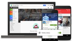 谷歌实现Google Play购买内容家人共享