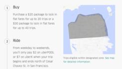 Uber下个月将在大城市测试平价项目