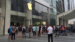iPhone 7/7 Plus中国首销 现场火爆