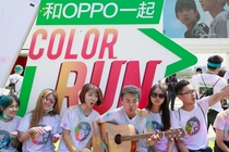 OPPO领彩跑粉众筹The Color Run MV