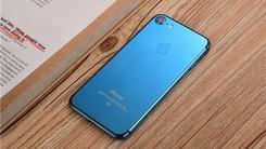 够豪够闪亮 定制版亮蓝色iPhone 7亮相