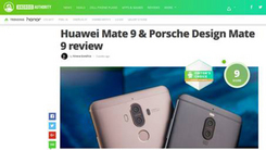 Android Authority:Mate 9获高分评价