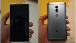 疑似红米Note 5机身现身 全面屏+双摄