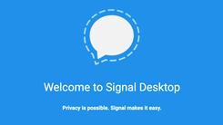 加密通信应用Signal发布桌面版客户端