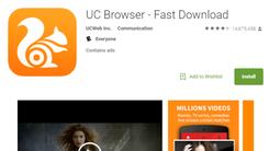 因为恶意推广 UC浏览器遭谷歌商店下架