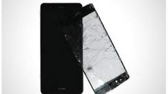 华为手机实力代言 外力暴击后毫发无损