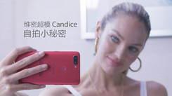 OPPO R11s成维密天使Candice自拍新宠
