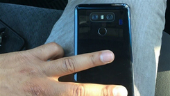 LG G6背部照曝光 双摄像+亮黑色设计