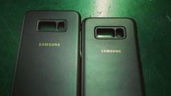 三星S8系列手机官方保护壳实拍图曝光