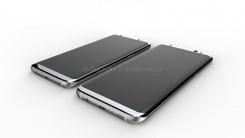 三星S8高清渲染图曝光 高屏占比高颜值