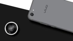 时尚自拍旗舰 vivo X9Plus星空灰上市