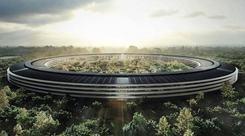 苹果新总部命名Apple Park今年4月使用