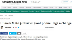 澳媒评Mate 9:安卓旗舰里程碑式改变