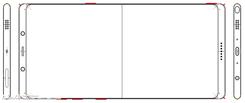 曝三星Note 8设计图:圆角超大屏占比