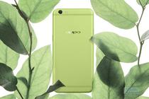 青春的气息 清新绿引领手机颜色革命