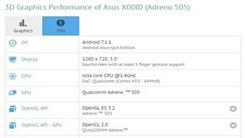 华硕新机现身GFXBench 搭载安卓7.1