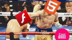 网络播放器之争结束:Adobe放弃Flash