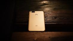 自带Freestyle的手机 小米5X金色 图赏