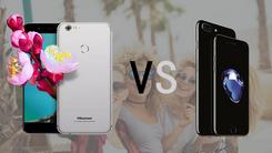 海信手机H10 VS iPhone 7自拍对比评测