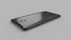 玻璃+金属设计 华为Mate 10渲染图曝光