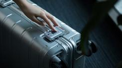 100%铝镁合金 米家定制90分金属旅行箱