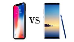 硬碰硬 iPhone X和三星Note 8怎么选?