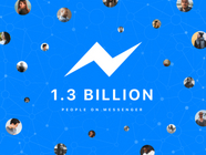 Facebook Messenger月活跃量突破13亿