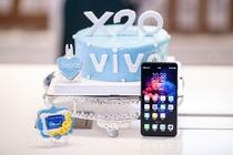 vivo X20全面屏手机首发 线下人气爆棚