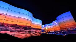 28米曲面屏屏巨幕 LG死磕柔性OLED面板