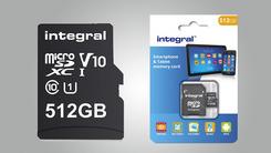 Integral Memory发布512GB microSDXC