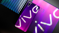 超自信机身设计:vivo X23 LOGO PHONE图赏