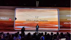 华为Mate 20 X搭载7.2英寸屏和5000mAh超大电池