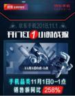 京东手机11.11实时竞速打响,荣耀、小米和Apple先拔头筹