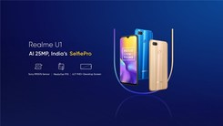 Realme U1印度发布 售价约1200元 首发Helio P70