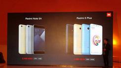 小米墨西哥发布红米5 Plus/Note 5A