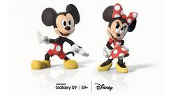 三星合作迪士尼 S9增加米奇AR Emojis