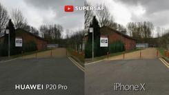 华为P20Pro,iPhoneX拍照实战对比