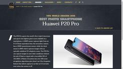 P20Pro荣膺TIPA2018最佳拍摄智能手机