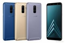 三星发布A系列中端Galaxy A6/A6+新机