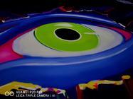 奇幻灯光秀 三颗眼与P20Pro遥相呼应