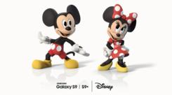三星S9动态萌拍更新素材 迪士尼加入