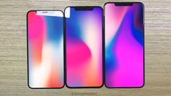 三款iPhone照片流出 均为刘海屏 LCD版本边框稍宽